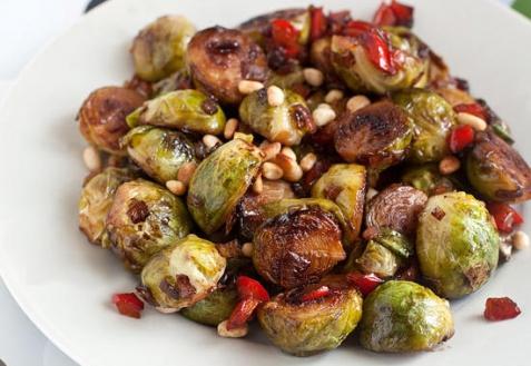 Рецепт - Жареная брюссельская капуста