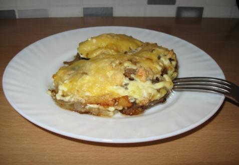 Рецепт - Куриная печень под шубкой