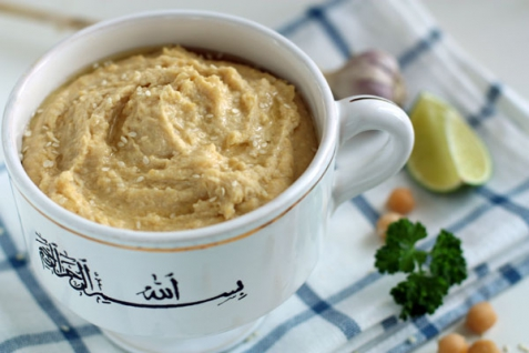 Рецепт - Хумус