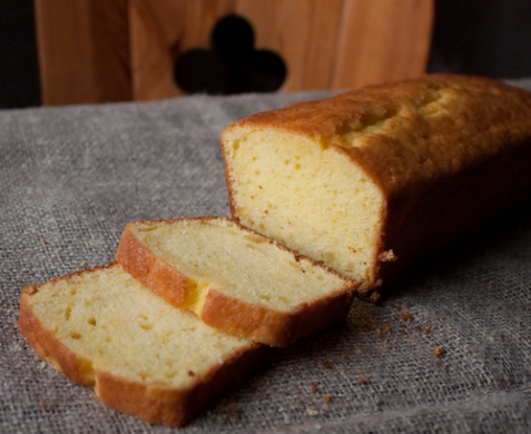 Имбирно-лимонный кекс