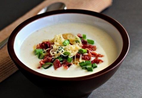 Рецепт - Холодный картофельный суп