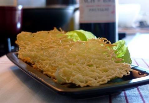 Рецепт - Сырные чипсы