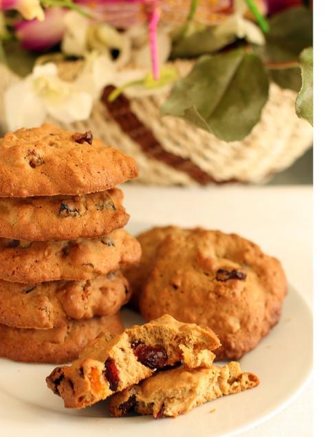 Рецепт - Печенье с цукатами