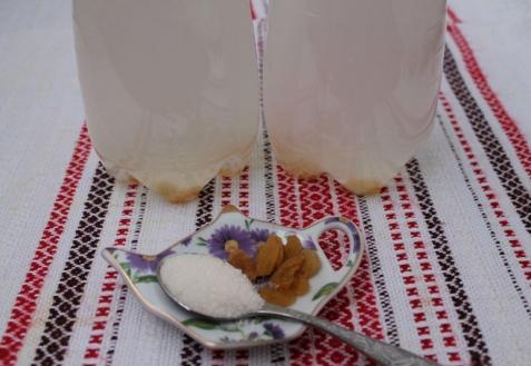 Рецепт - Квас из березового сока