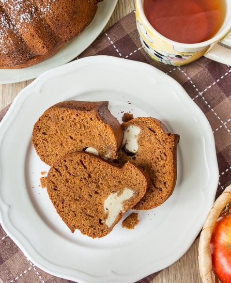 Пряный тыквенный кекс с рикоттой
