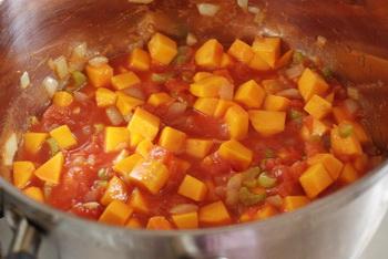 + тыква и томаты