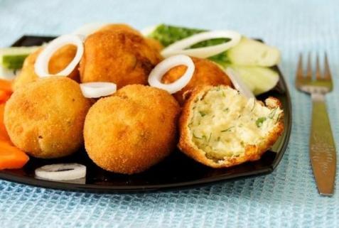 Рецепт - Картофельные крокеты
