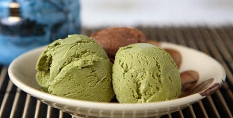 Мороженое из зеленого чая - рецепт