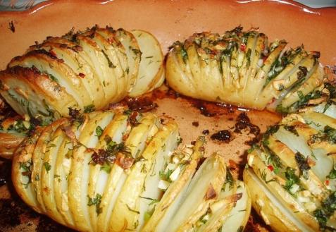 Картошка «Пружинка»