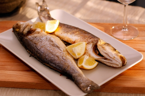 Рецепт - Сибас по-мароккански