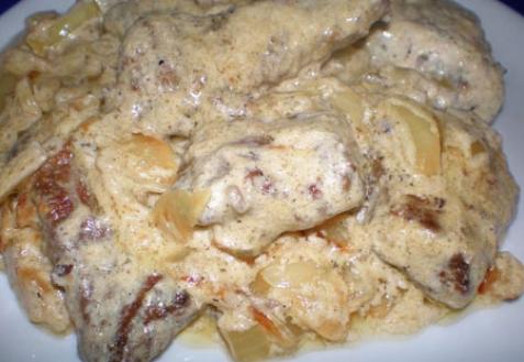говяжья печень в майонезе запеченная в духовке
