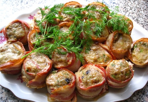 Закуски из свинины с фото
