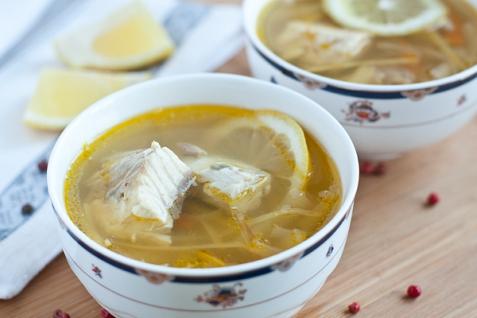 Рецепт - Суп из осетрины