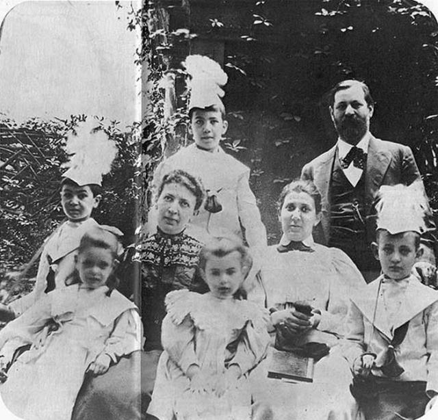 У Марты и Зигмунда было шестеро детей