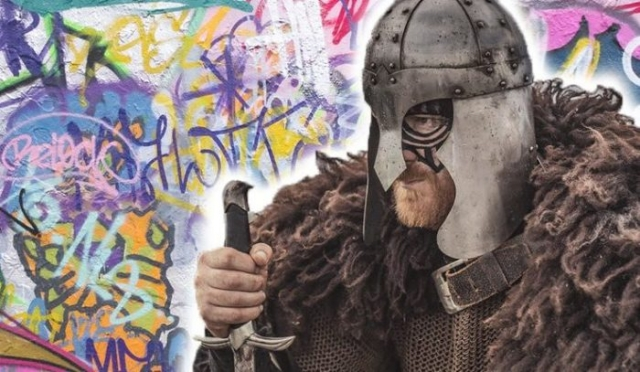 Результат пошуку зображень за запитом Где остались граффити, которые рисовали викинги - фото.