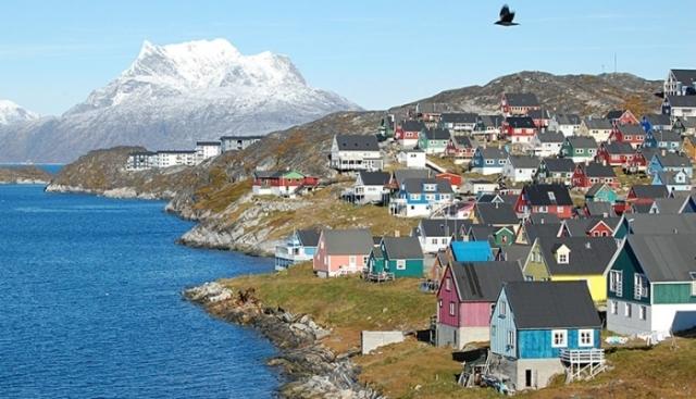 Прекрасная столица Гренландии.