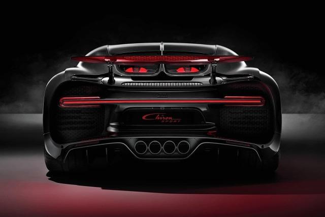 Bugatt Chiron Sport rear
