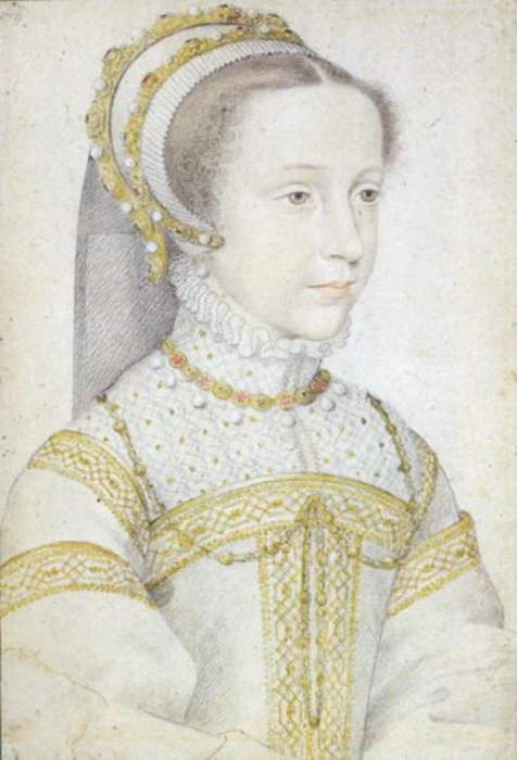Мария Стюарт в юности. Портрет Франсуа Клуэ.