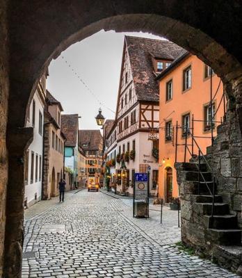 Пятнадцать самых красивых в мире улиц. Фото