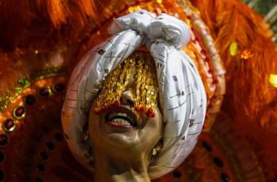 Бразильский карнавал в ярких снимках. Фото