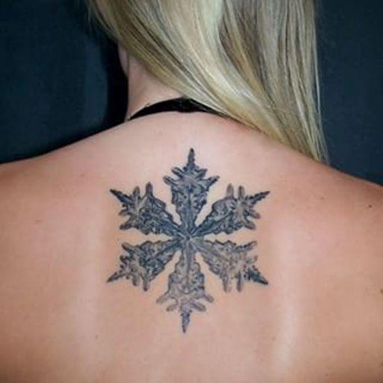 Зимние татуировки
