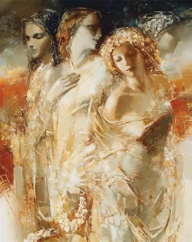 ЖЕНСКАЯ ДУША.Бог его знает, что там намешано,В нашей загадочной женской душе.Нитью искристою соткана ...