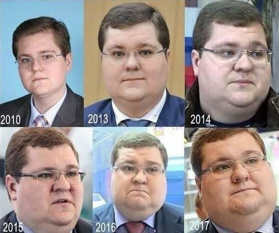 Прогресcирующий pост экономики РФ на примере депутата!