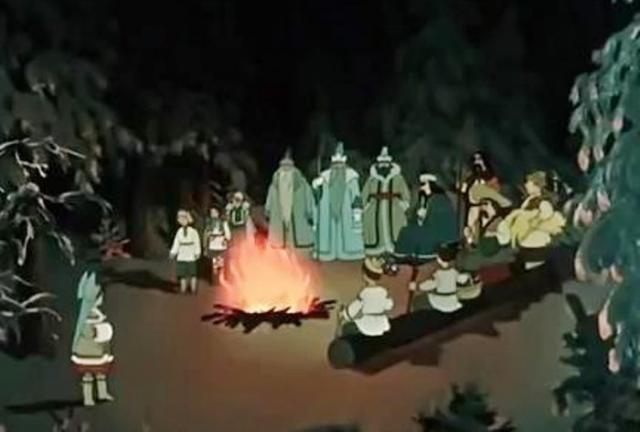 Кадр из мультфильма *Двенадцать месяцев*, 1956 | Фото: kinopoisk.ru