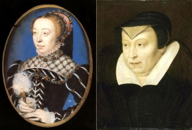 Франсуа Клуэ. Портреты Екатерины Медичи, ок. 1555