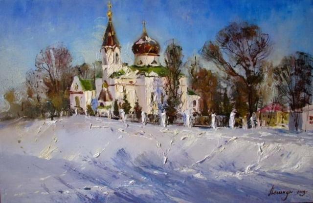 художник Василий Пешкун картины – 03