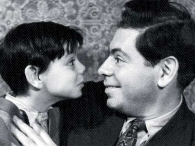 Аркадий Райкин с сыном. / Фото: www.visionary.ru