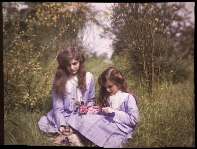Фото: Первые цветные снимки, которые сумели передать все чувства и реалистичность (Фото)