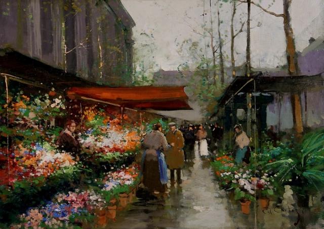 Работы художника Эдуарда Леона Кортеса ( Édouard Leon Cortès 1882 - 1969 г.г.). Часть 5. (28 фото)