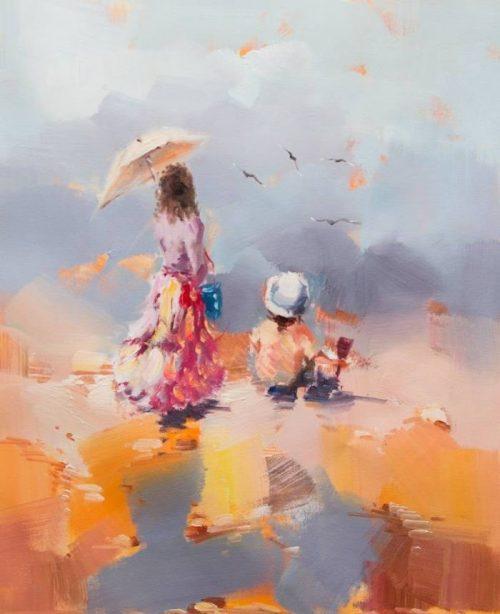 художник Савелий Камский картины - 28