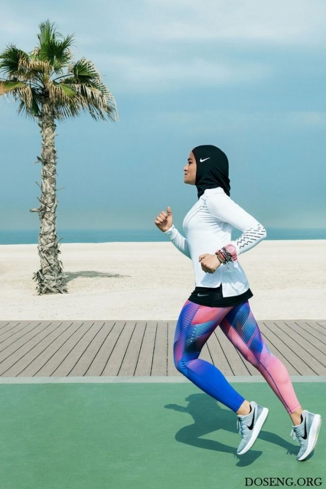 Nike разработал спортивный хиджаб