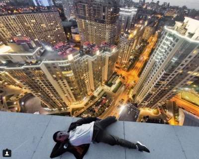 Киев показали с высоты многоэтажек. Фото