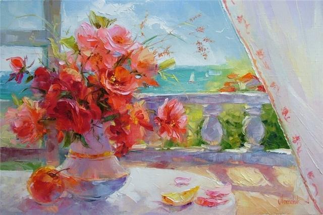 """Результат пошуку зображень за запитом """"Чудесные цветы от Анны Хомчик."""""""