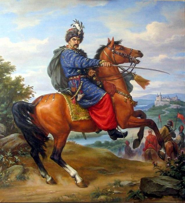 Гетман Войска Запорожского - Иван Богун.