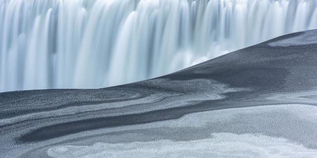 Деттифосс, Исландия.