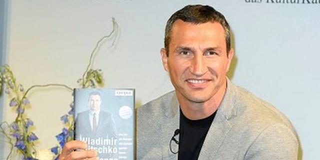 Кличко-младший презентовал собственную книгу