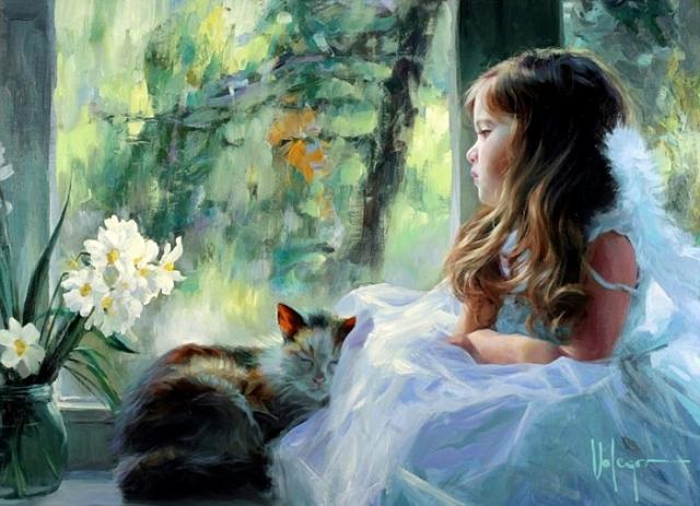 «Мы в детстве повзрослеть скорей мечтали...» Солнечная живопись от Владимира Волегова.