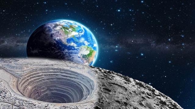 Полая Луна, вид снаружи
