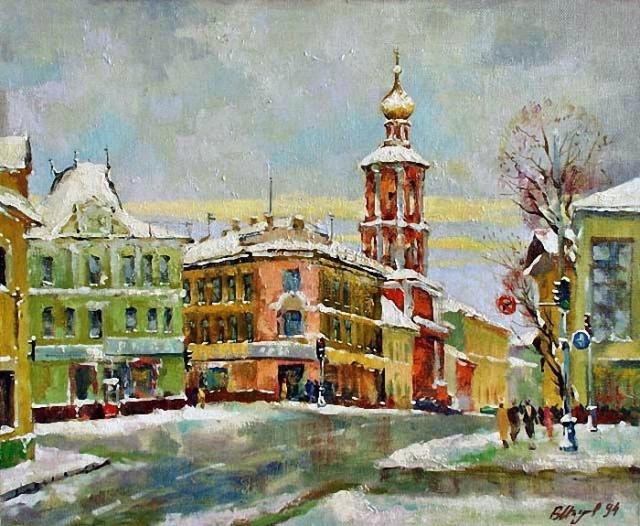 художник Валерий Изумрудов картины - 07