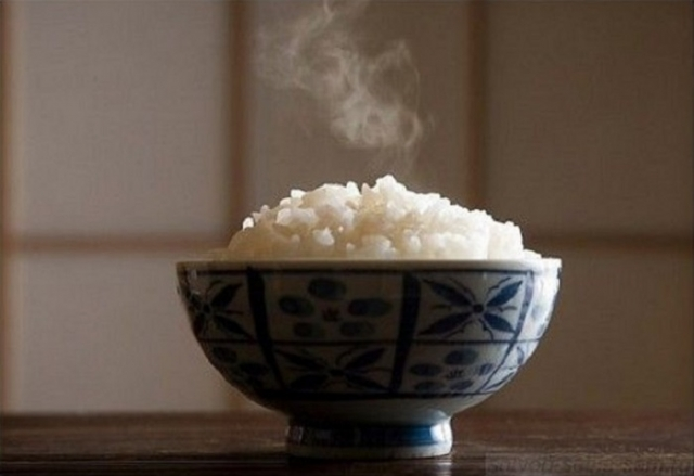 Вареный рис. | Фото: colors.life.
