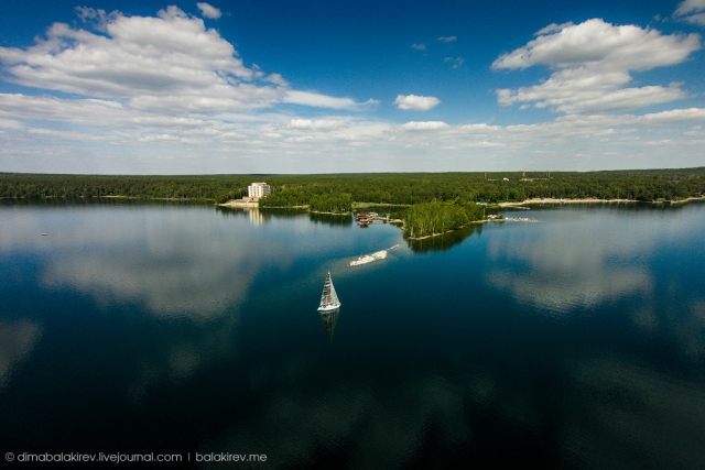 Озеро Увильды, Челябинская область. дрон, красота, мир, пейзаж