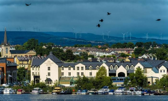 Каррик-он-Шаннон. графство Литрим, Ирландия.
