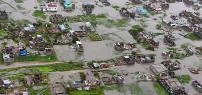 Ужасные последствия стихии в Мозамбике. Фото