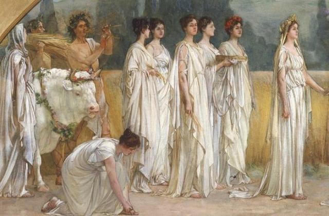 Постельные причуды от Аристофана.