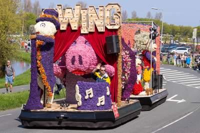 Самый яркий цветочный фестиваль Европы. Фото