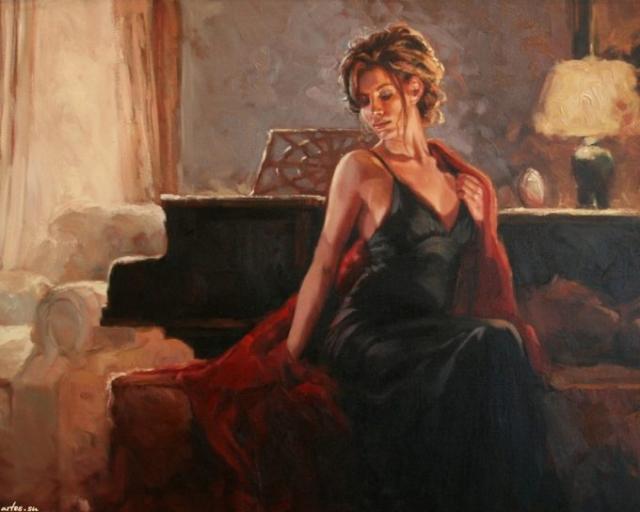 Картинки по запросу Красота женщины в рисунках Mark Spain.